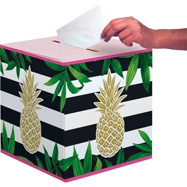 Pineapple Wedding Card Box