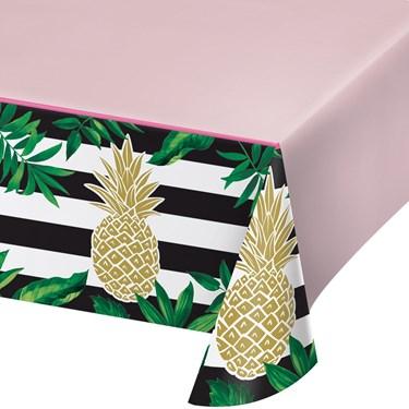 Pineapple Wedding Plastic Tablecover (1)