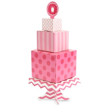 Pink! Centerpiece Cake