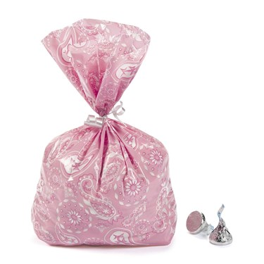 Pink Cowgirl Cellophane Bags(12)