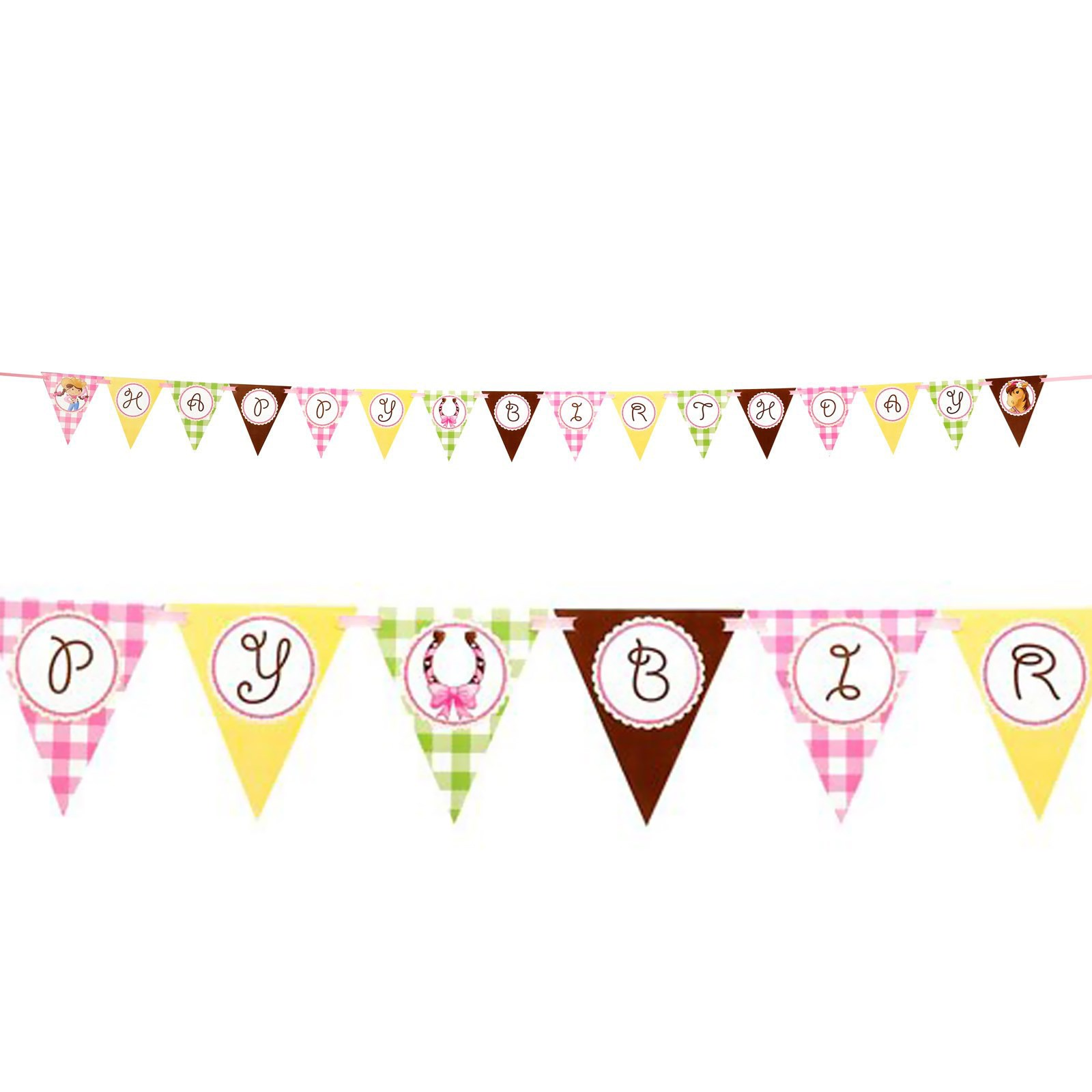 It S A Girl Cake Bunting