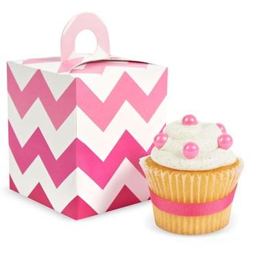 Pink! Cupcake Boxes