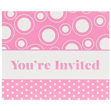 Pink Invitations (8)