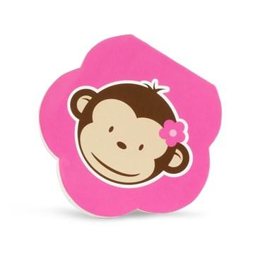 Pink Mod Monkey Notepads