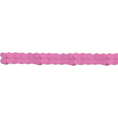 Pink Paper Garland