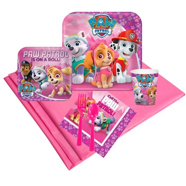 Pink Paw Patrol 24 Guest Party Pack