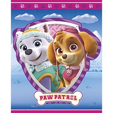 Pink Paw Patrol Favor Bags (8)