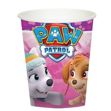 Pink Paw Patrol Girl 9oz Paper Cups (8)