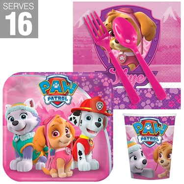 Pink Paw Patrol Snack Pack For 16