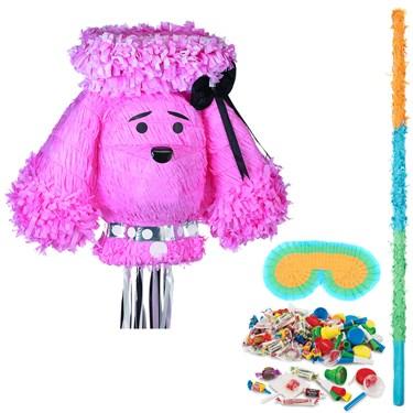 Pink Poodle Pinata Kit