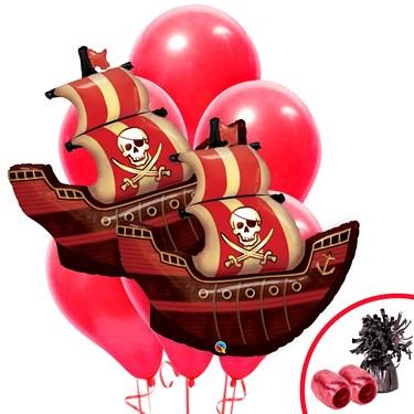 Pirate Birthday Jumbo Balloon Bouquet Kit