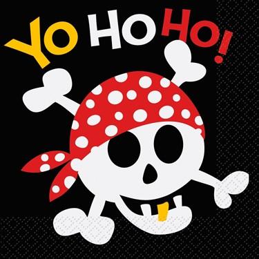 Pirate Birthday Luncheon Napkins