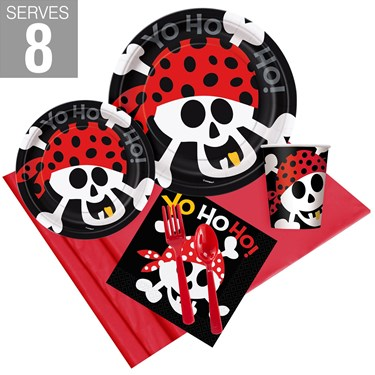 Pirate Birthday Party Pack For 8