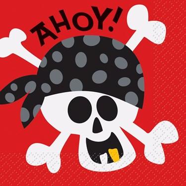 Pirate Fun Beverate Napkins (16)