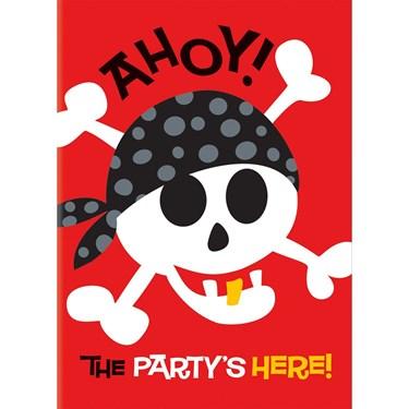 Pirate Fun Invites(8)