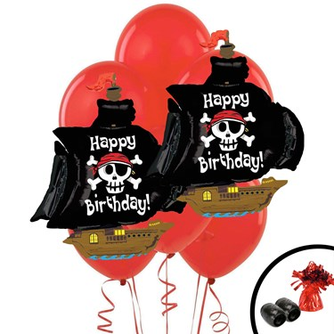 Pirate Jumbo Balloon Bouquet