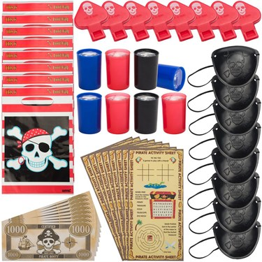 Pirate Party Favor Pack (8)