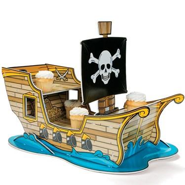 Pirate Ship Cupcake Holder