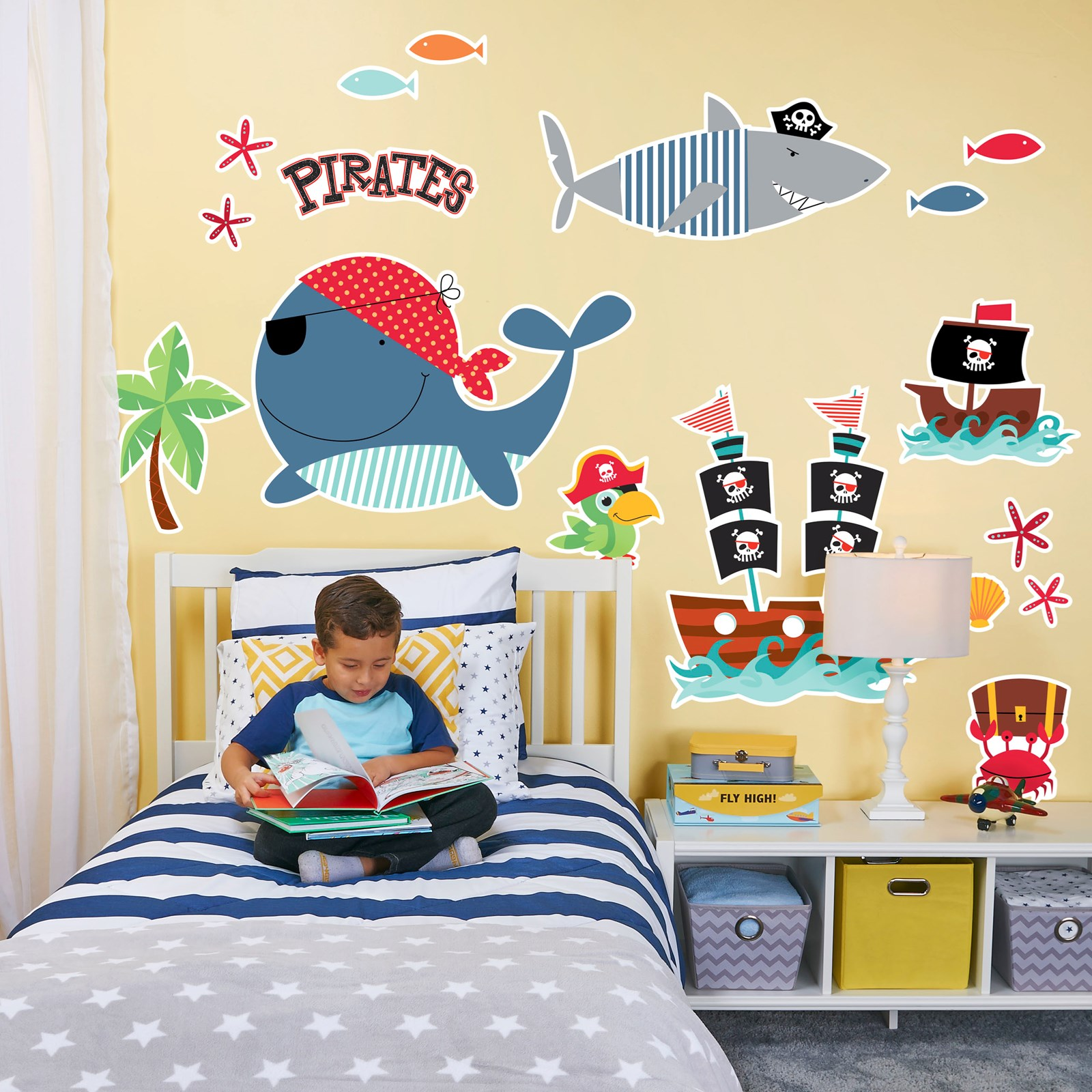 Outstanding Jake And The Neverland Pirates Wall Decor Illustration ...