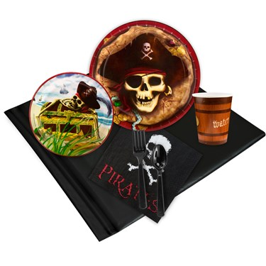 Pirates 24 Guest Party Pack