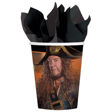Pirates of the Caribbean 9 oz Paper Cups (8)