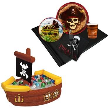 Pirates Tableware & Cooler Kit