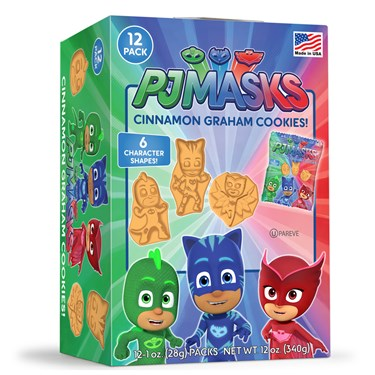 PJ Masks Cinnamon Graham Cookies (12)