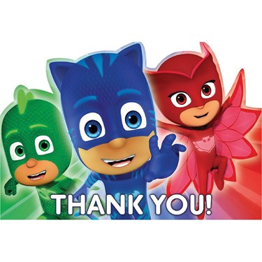 PJ Masks Thank You Notes(8)