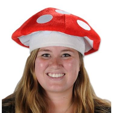 Stuffed Mushroom Hat