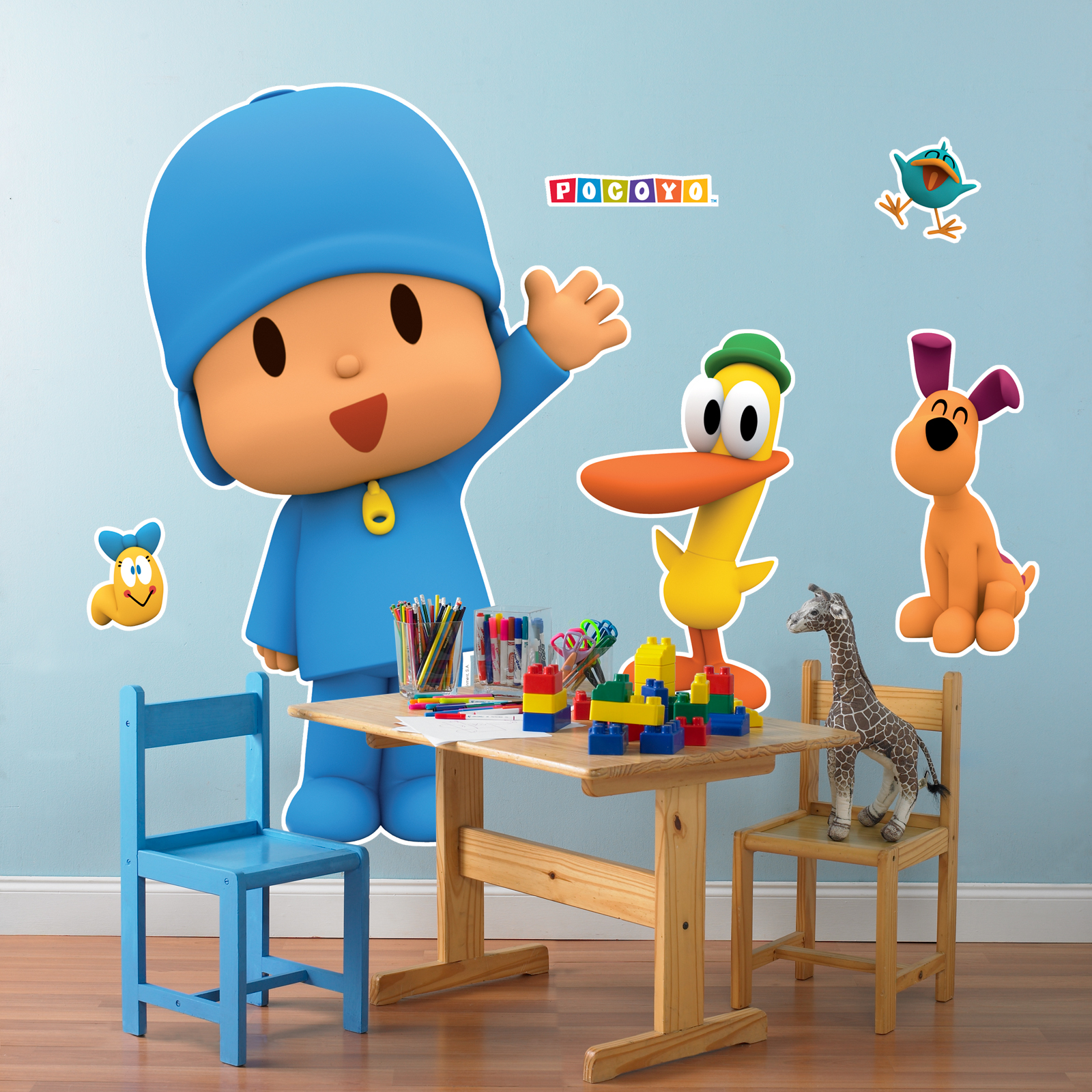 Pocoyo giant wall decals birthdayexpress amipublicfo Image collections