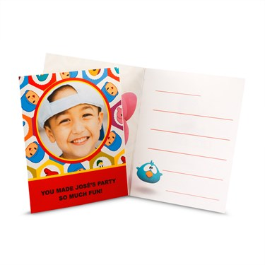 Pocoyo Personalized Thank-You Notes
