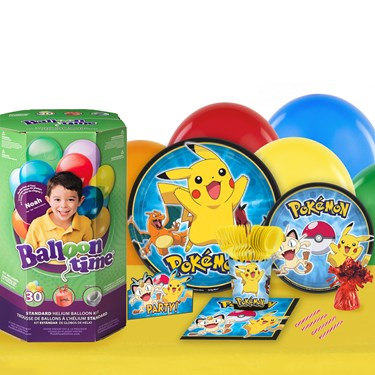 Pokemon 16 Guest Party Pack and Helium Kit