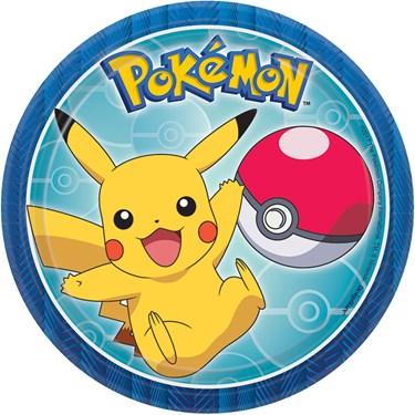"Pokemon Core 7"" Dessert Plates (8)"