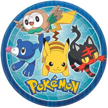 "Pokemon Core 9"" Lunch Plates (8)"