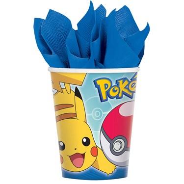 Pokemon Core 9oz Paper Cups (8)