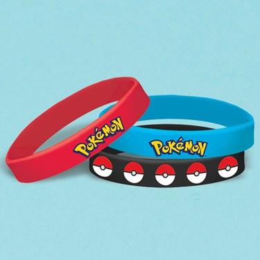 Pokemon Core Rubber Bracelets (6)