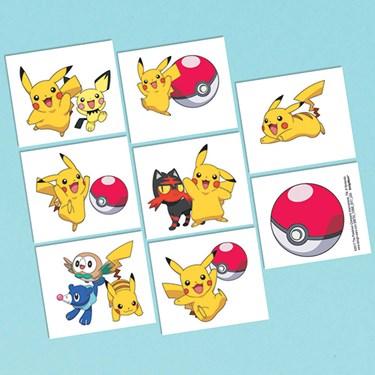 Pokemon Core Tattoo Sheet (1)