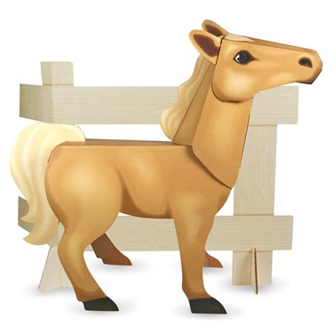 Ponies - Standup Tan Pony