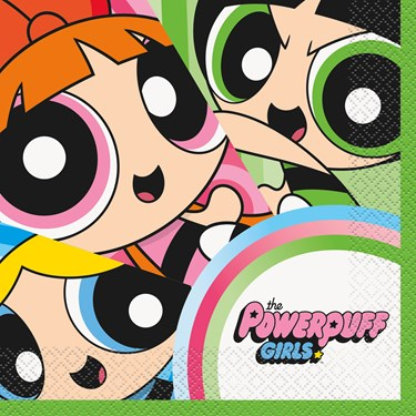 Power Puff Girls Lunch Napkins (16)