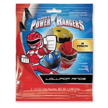 Power Ranger Masks Lollipop Rings (3)