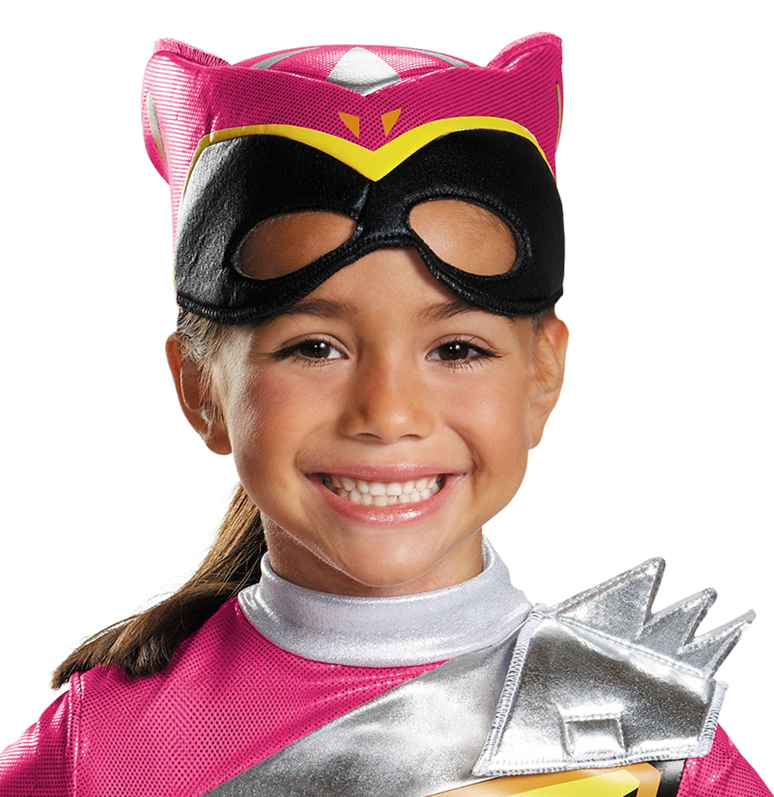 power rangers dino charge deluxe pink ranger costume for toddler girls. Black Bedroom Furniture Sets. Home Design Ideas