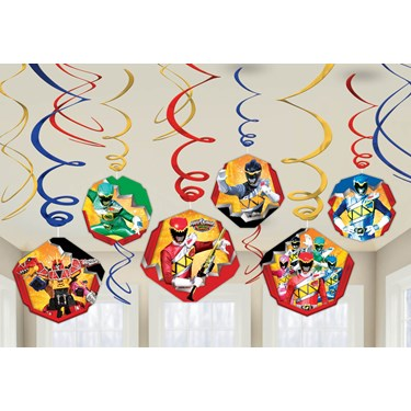 Power Rangers Dino Charge Hanging Swirl Value Pack