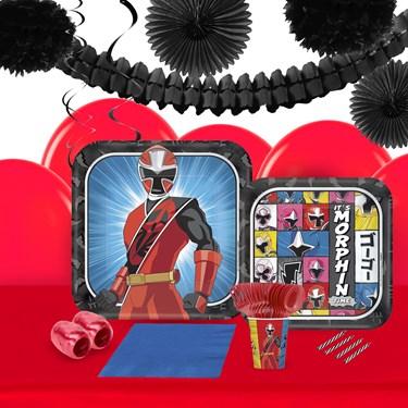 Power Rangers Ninja Steel 16 Guest Tableware & Deco Kit