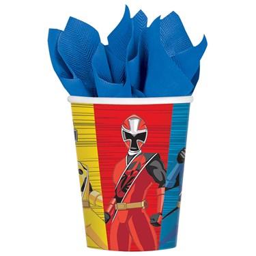 Power Rangers Ninja Steel 9oz Paper Cups (8)