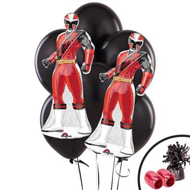 Power Rangers Ninja Steel Jumbo Balloon Bouquet Kit