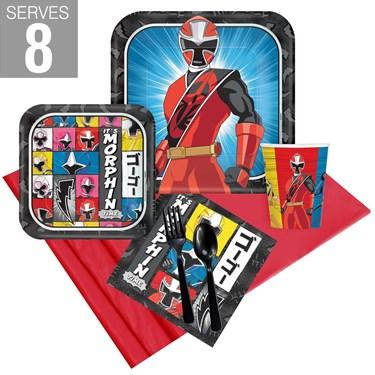 Power Rangers Ninja Steel Party Pack For 8
