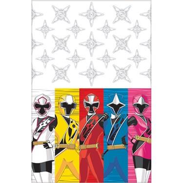 Power Rangers Ninja Steel Plastic Table Cover (Each)