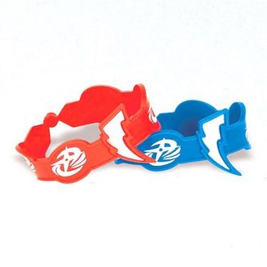 Power Rangers Ninja Steel Rubber Bracelet (6 Count)