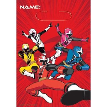 Power Rangers Ninja Steel Treat Bags(8)