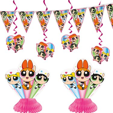 Powerpuff Girls Decoration Set (7)